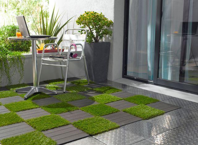 Achat Gazon Synthetique Tout Savoir Terrasse Design Decoration Balcon D Appartement Revetement Terrasse