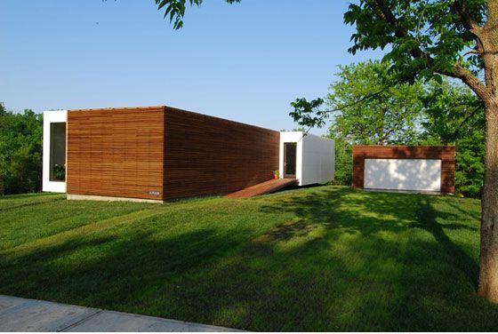 Modern PreFab - Studio 804 Res Architecture Pinterest Casas