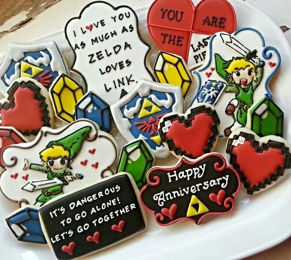 Legend Of Zelda Cookies