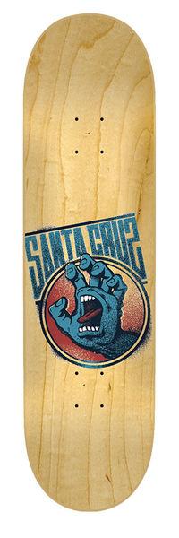 Santa Cruz Skateboards: Decks: 7.6in x 31.5in Screaming Tag Deck