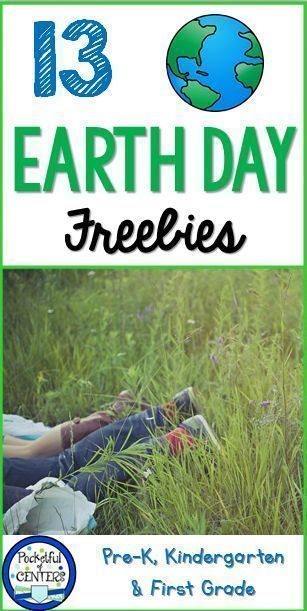 Earth Day FREEBIES for Kindergarten