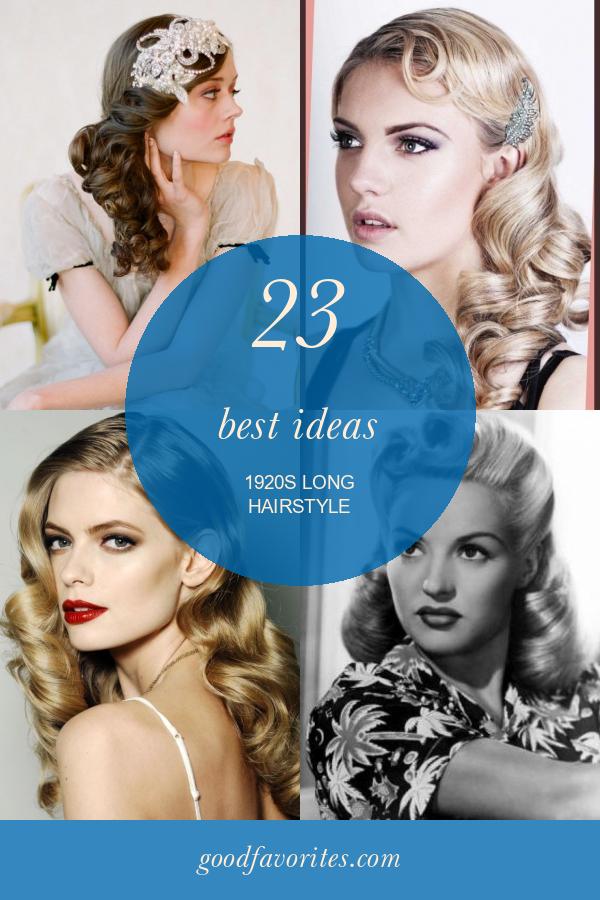 23 Best Ideas 1920s Long Hairstyle 1920s Long Hair Hairdo For Long Hair Vintage Hairstyles For Long Hair