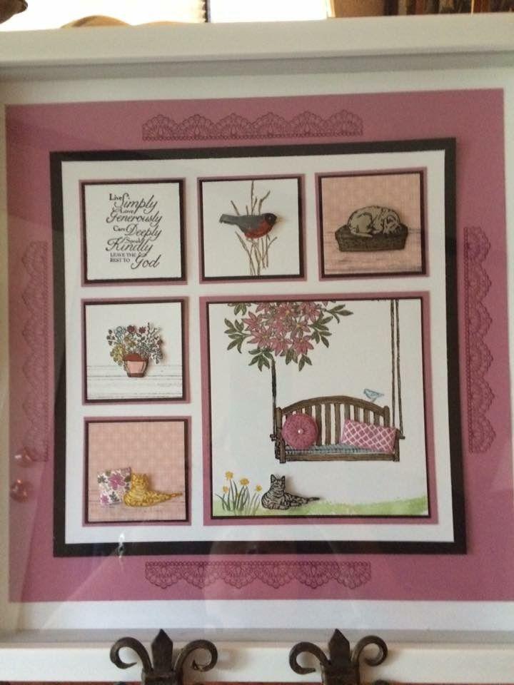 Pin von Edna Rhea auf Samplers   Pinterest   Karten basteln ...