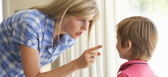 Castigos en función de la edad del niño