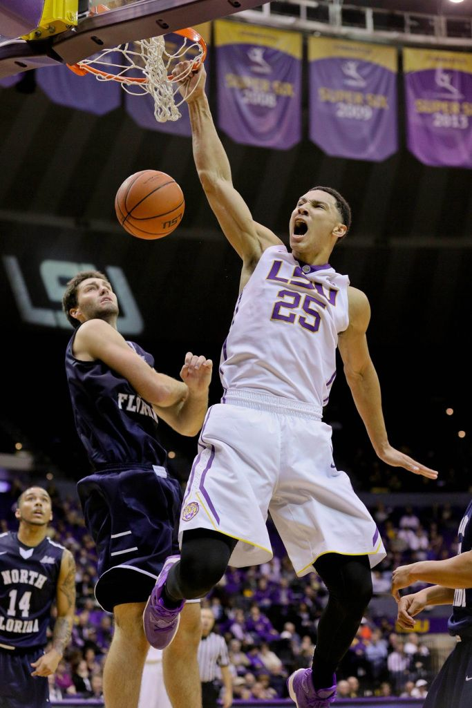 Ben Simmons Highlights Lsu Victory Over North Florida Ben Simmons Lsu Simmons