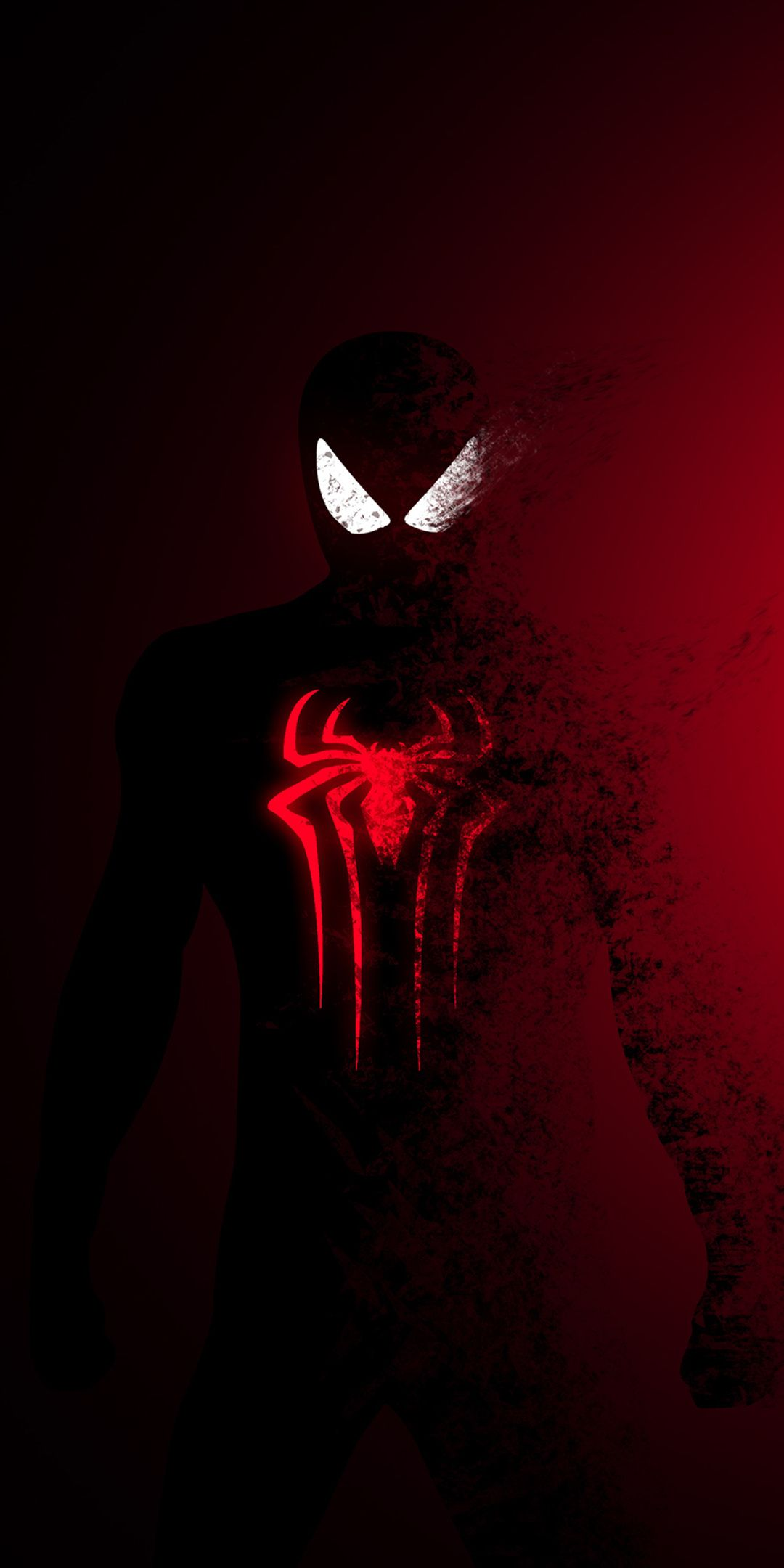 1080x2160 Spiderman, SpiderMan Far From Home, darkred
