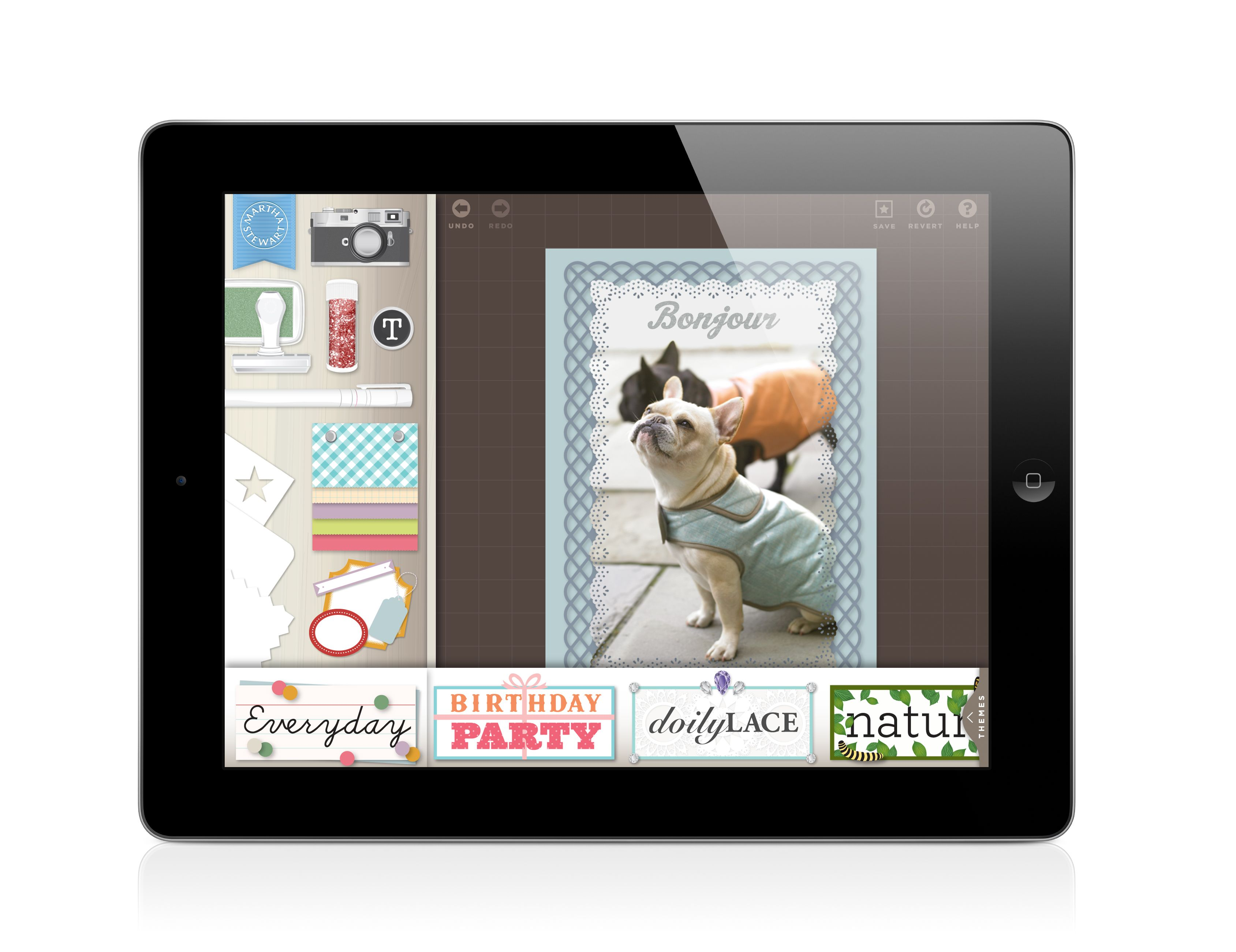 Experience a new, must-have app that delivers Martha Stewart's world of paper crafting and design to your iPad. Download the CraftStudio iPad app -- it's FREE until July 8th.