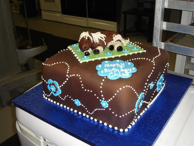 Rocking Horse Cake Design : 3-D Horse Cakes Designs ... design birthday cake with ...