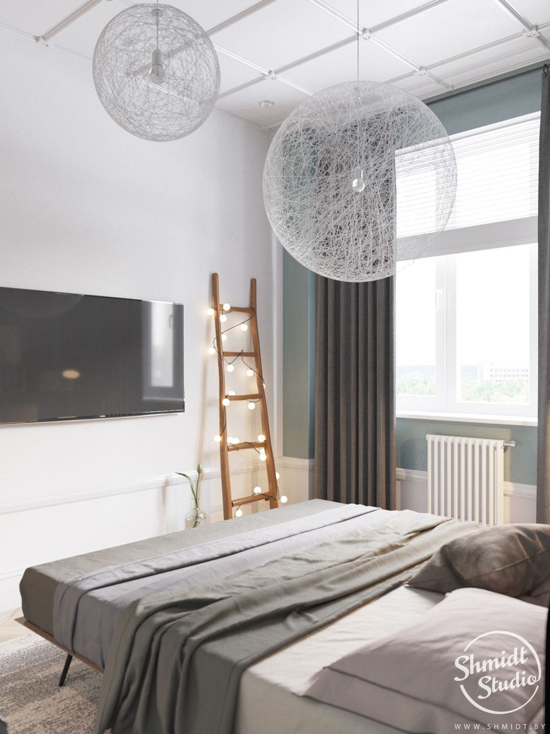 A Scandinavian Chic Style 3 Bedroom Apartment For A Young Family In 2020 Chic Interior Design Chic Interior Interior Design