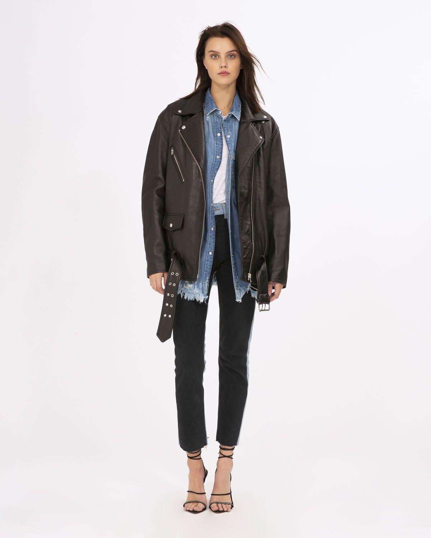 Iro Odd Leather Jacket Black Leather Jacket Black Coats Jackets Women Leather Jacket [ 1500 x 1200 Pixel ]