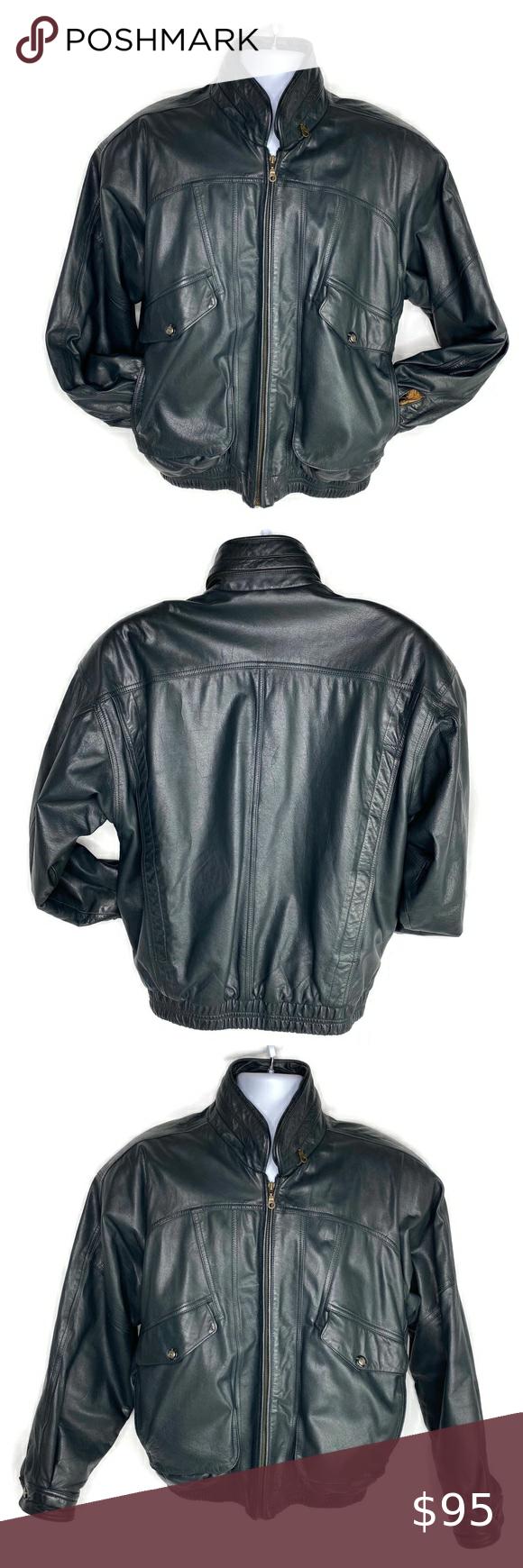 True Breed Heavy Leather Bomber Jacket Medium Leather Bomber Jacket Leather Bomber Bomber Jacket [ 1740 x 580 Pixel ]