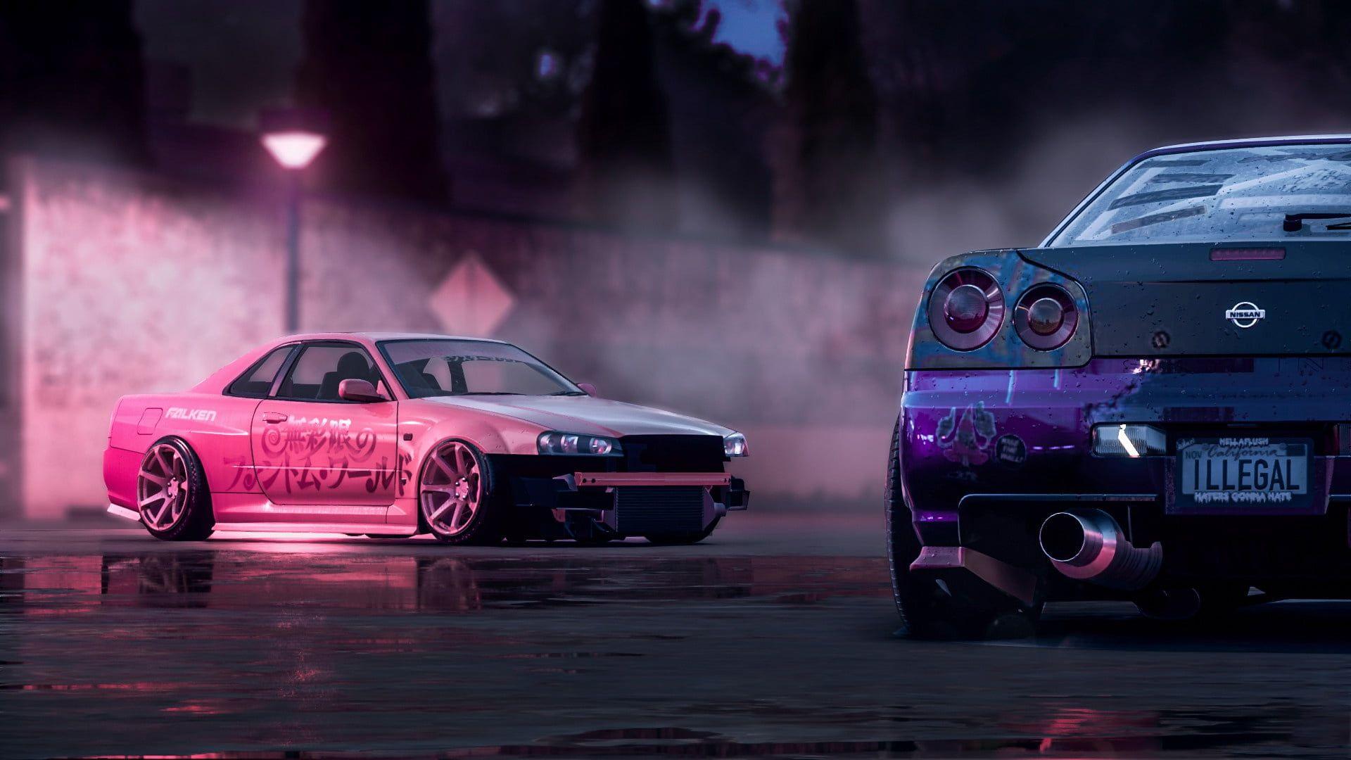 15++ Nissan skyline gtr r34 backgrounds background