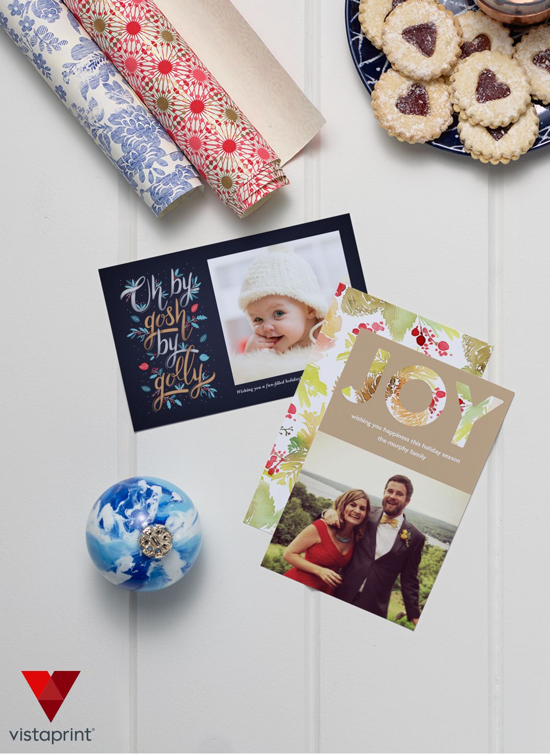 Make this year\'s Christmas card your best one yet! Vistaprint has ...