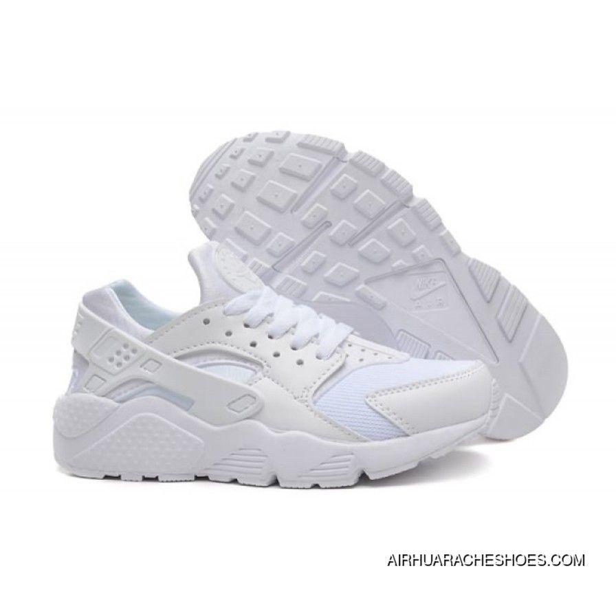 ace07ba8d12f Men Womens Huaraches Shoes Nike Air Huarache All White Sneakers For Sale