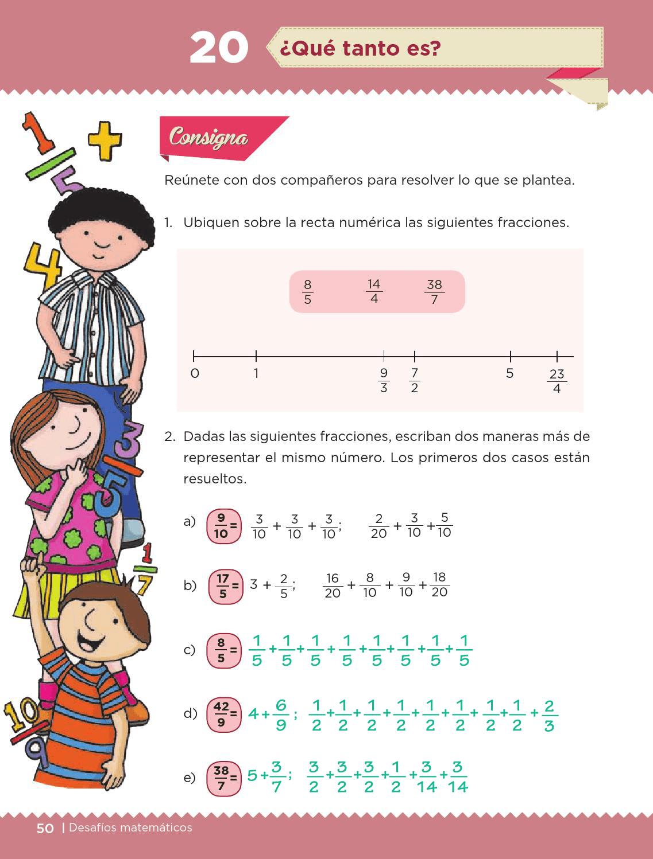 Ayuda Para Tu Tarea De Quinto Desafios Matematicos Bloque