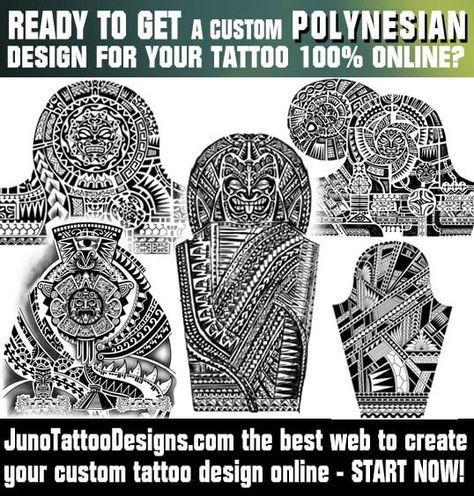 Polynesian Tattoos Samoan Tattoo Tattoo Template Juno Tattoo