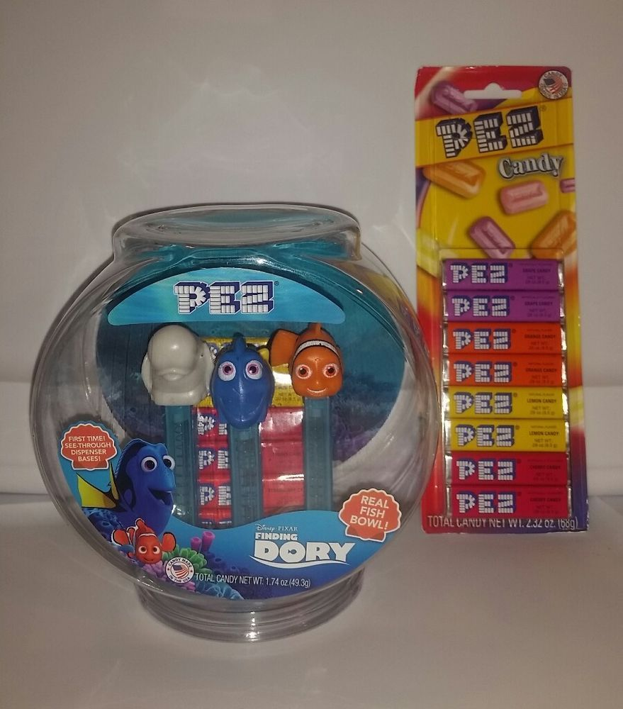Pin By Melissa W On 0011 Pez Finding Dory Gift Set Pez Candy