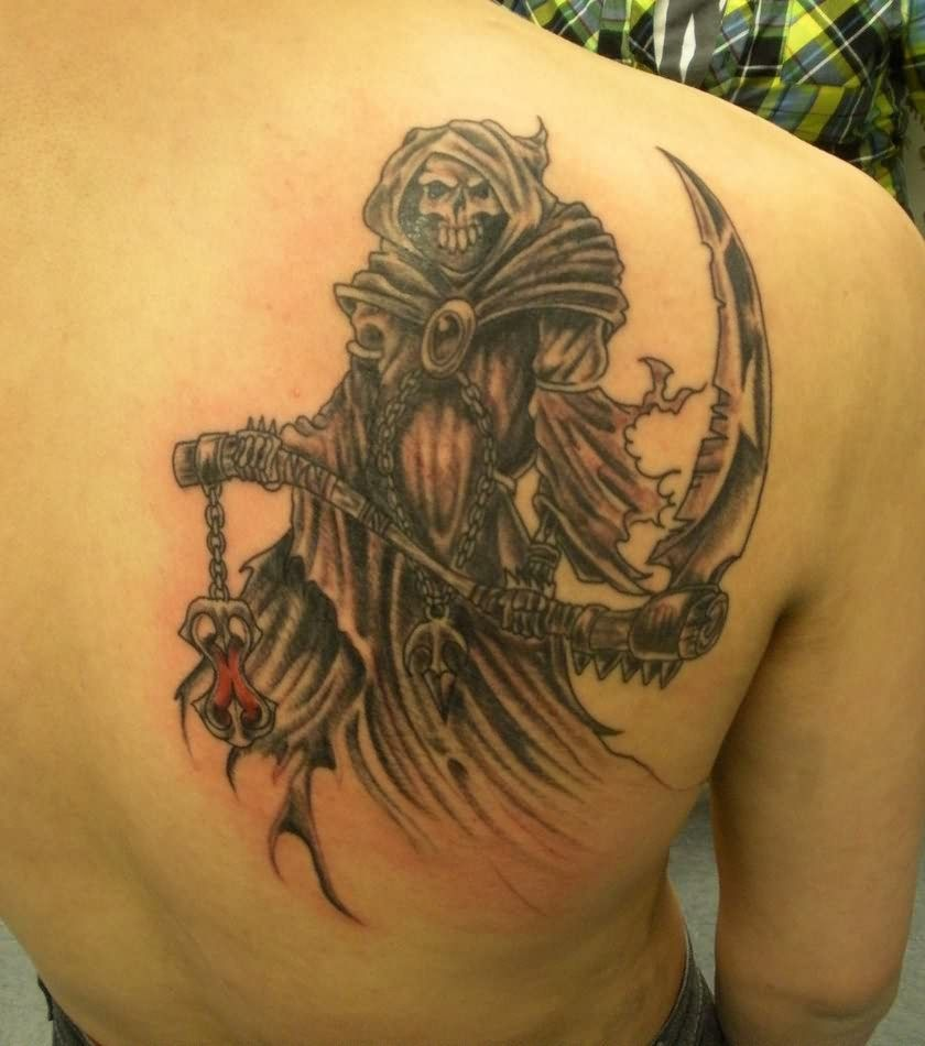 the angel of death tattoo - http://tattooideastrend/the-angel