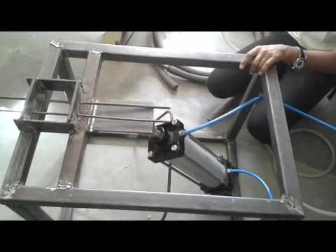 Double bar bending machine operating with pneumatic cylinder Diploma 6 sem  project. - YouTube | Youtube, The originals