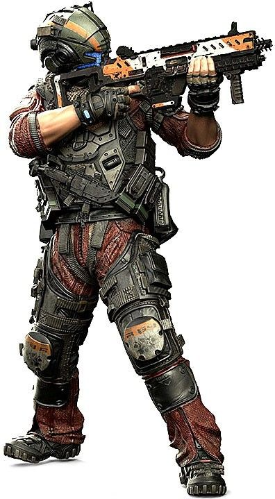 mcfarlane toys titanfall 2 color tops red wave pilot action figure 8