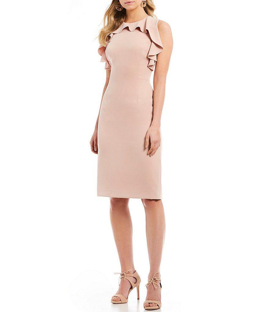 ea198cd471d Antonio Melani Dean Ruffle Sheath Dress in 2019