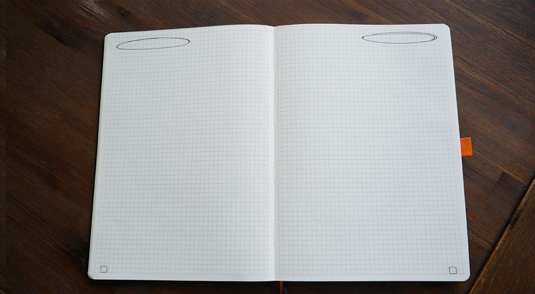 Content page of my own designed notebook. Order it now at http://www.worknotes.de