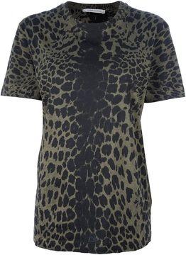 dbb330fb392 Pierre Balmain animal print t-shirt on shopstyle.com   ptrn skn ...