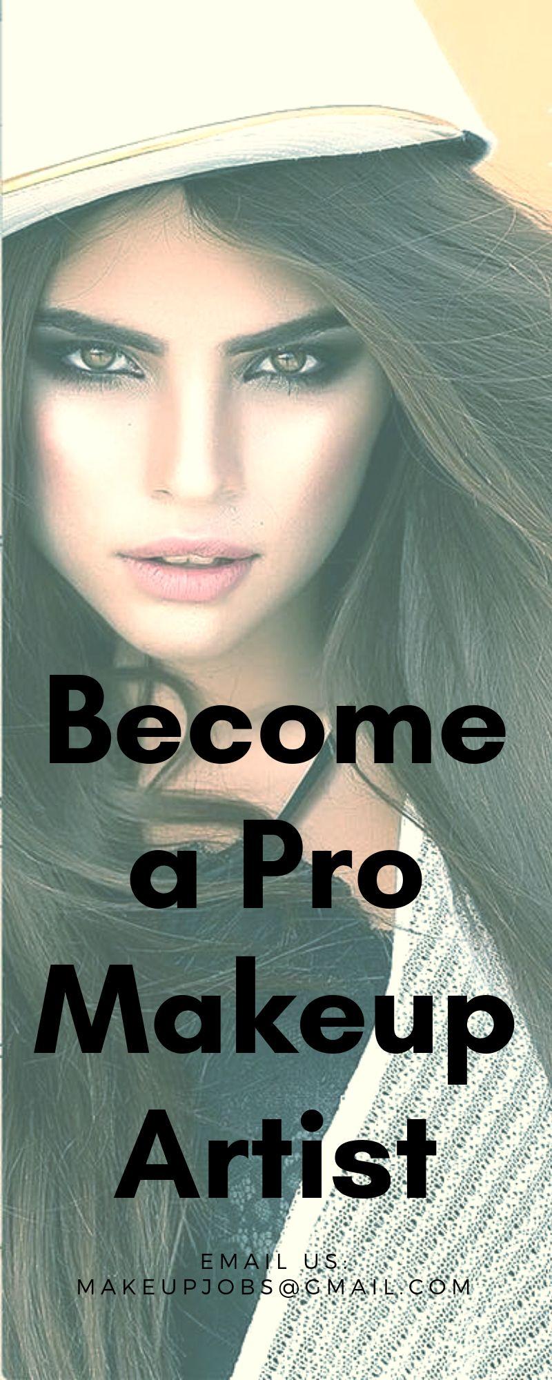 How to a make artist Makeup artist certification