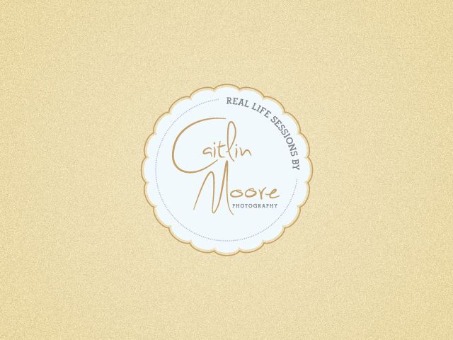 Logo design for Caitlin Moore Photography.