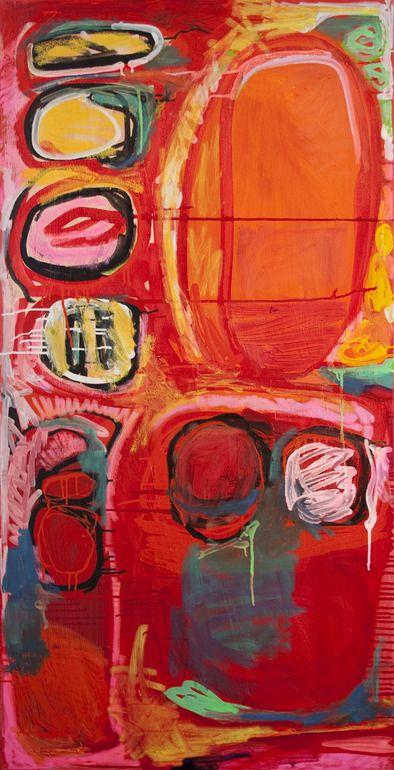 "Saatchi Online Artist: Claire Desjardins; Mixed Media, 2011, Painting ""Sounds Interesting"""