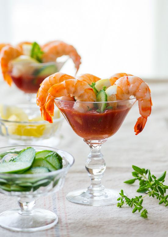 Sriracha Shrimp Cocktail