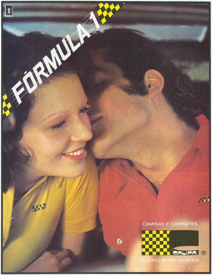 1974: Fórmula 1 Menswear