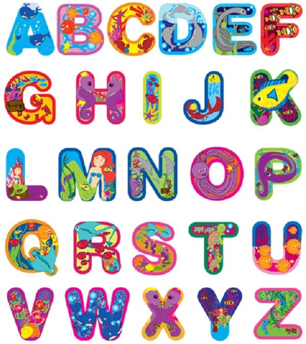 capital letters alphabet to cut out for kids | Printable ...
