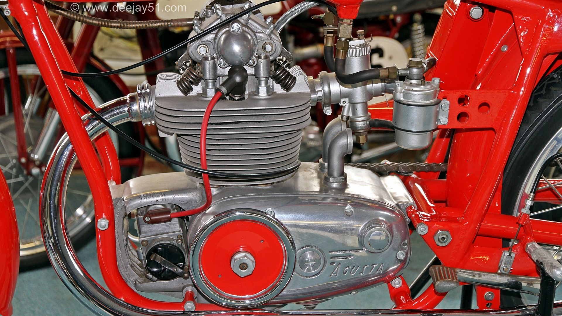 1953: MV AGUSTA 125 - PRODUCTION RACER.