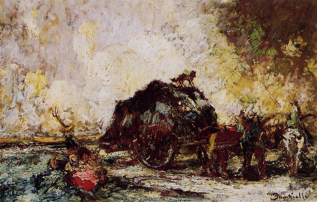 The Athenaeum - The Hay Card (Adolphe-Joseph-Thomas Monticelli - ) | Canvas  art prints, Canvas art for sale, Art