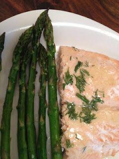 Easy salmon dish
