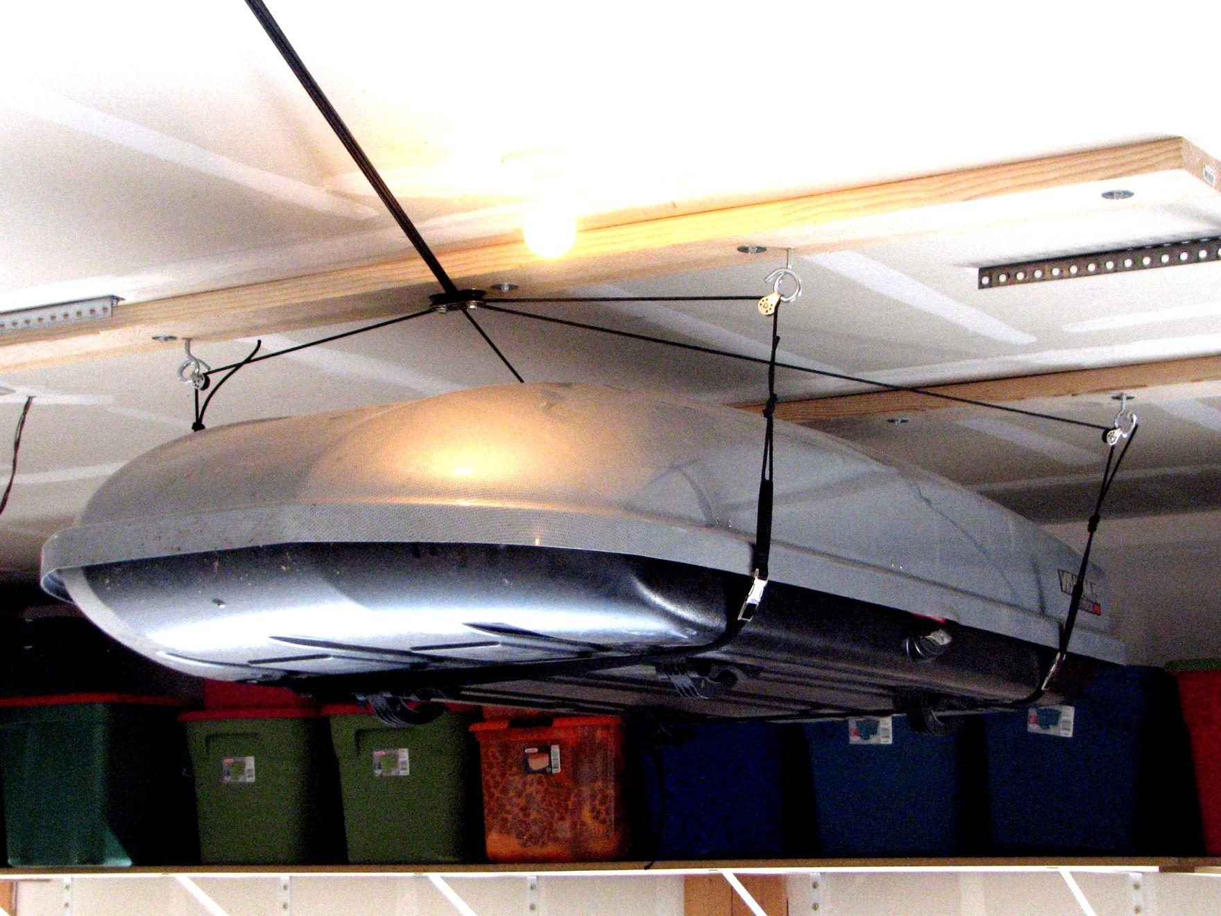 Garage Storage Hoist Overhead Garage Storage Diy Overhead Garage Storage Overhead Garage