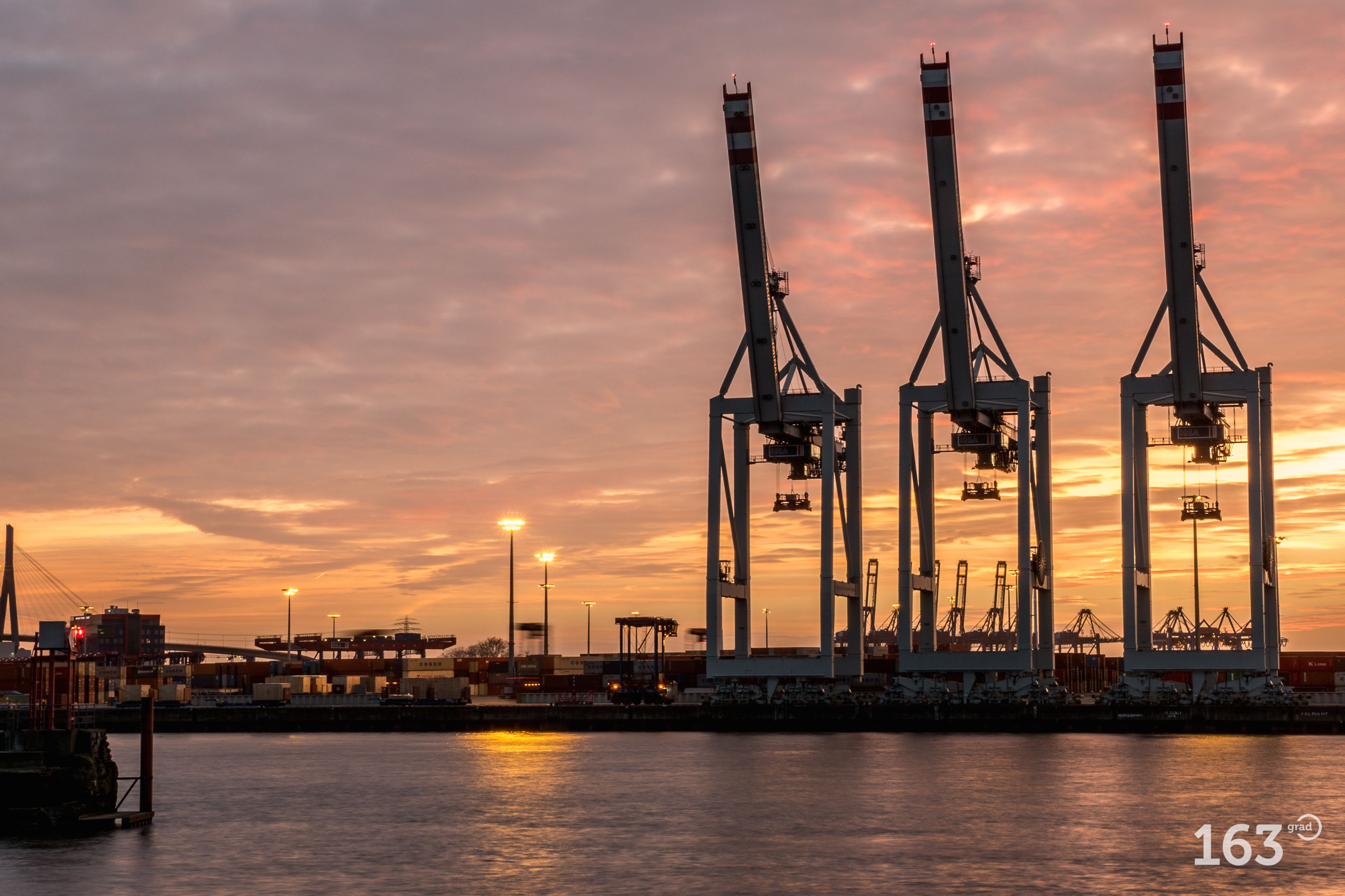 Hamburger Hafen, Containerterminal Vorhafen Steinwerder ...