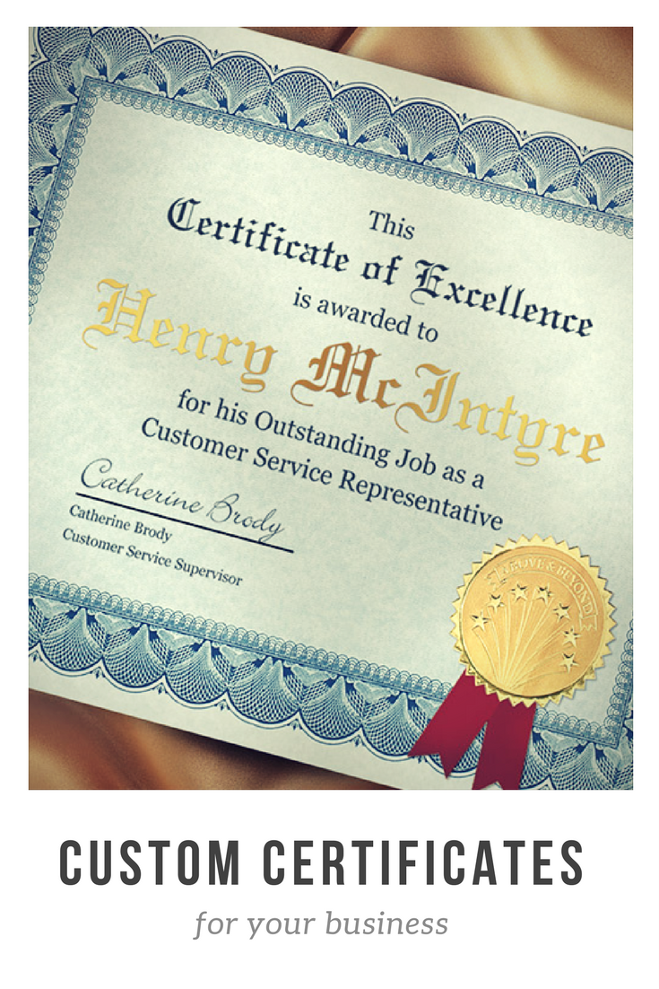 Certificates Certificate Jackets And Plaques Available In