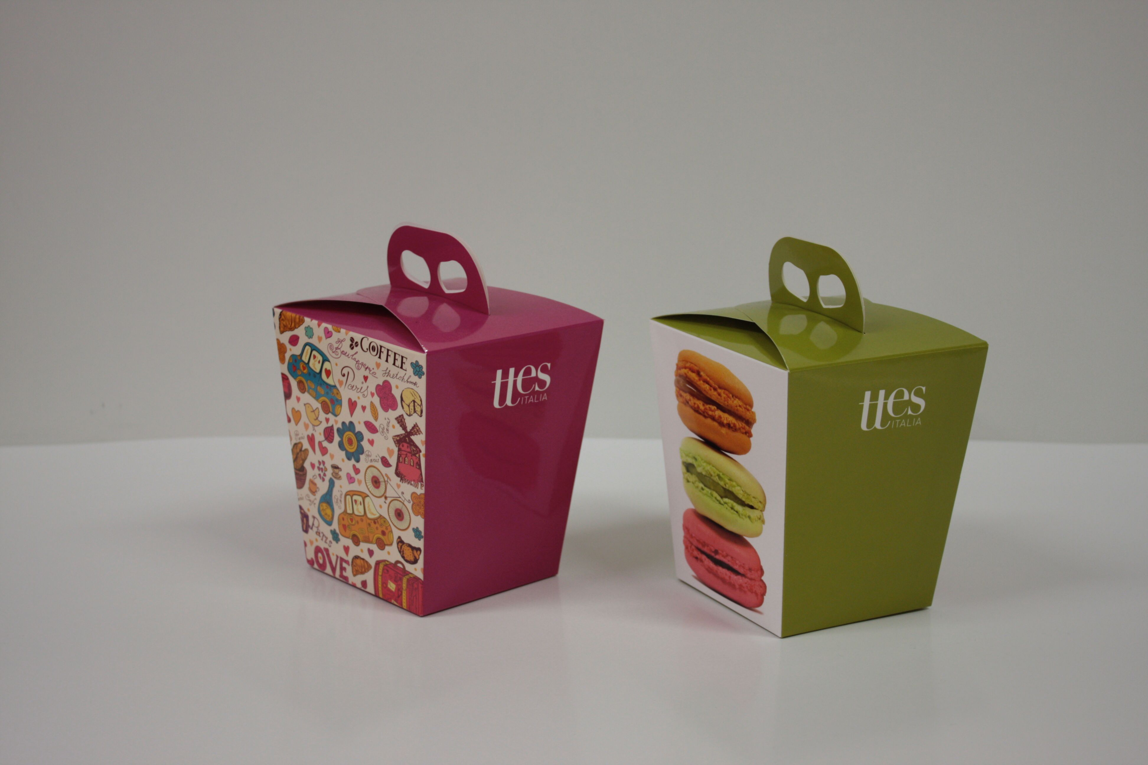 Packaging con maniglia