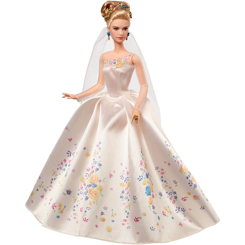 Toys For The Honeymoon : Disney princess cinderella live action wedding mattel