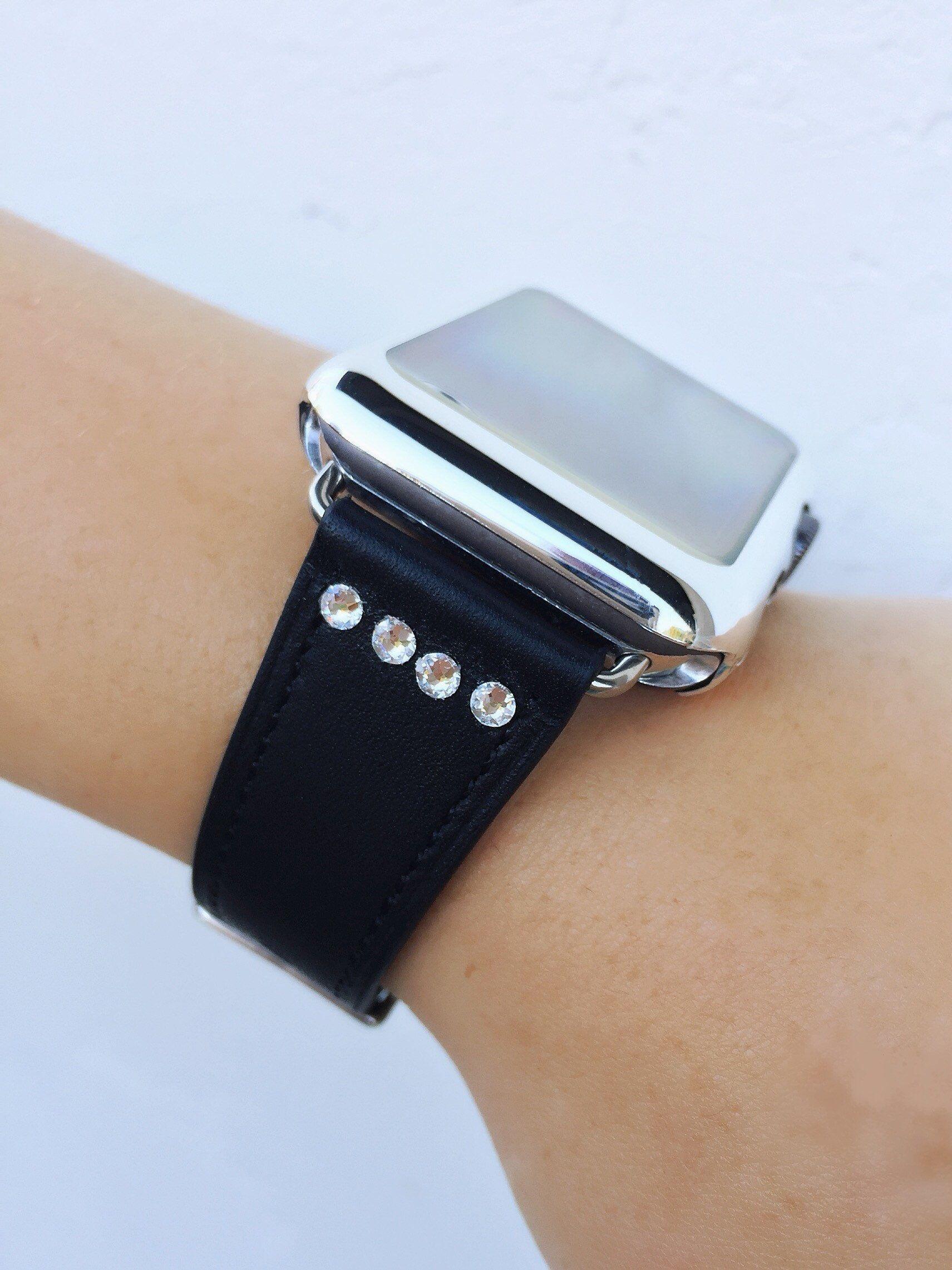 1f20f365e7 Swarovski Crystal Apple Watch Band 38mm 42mm 40mm 44mm Strap iWatch ...