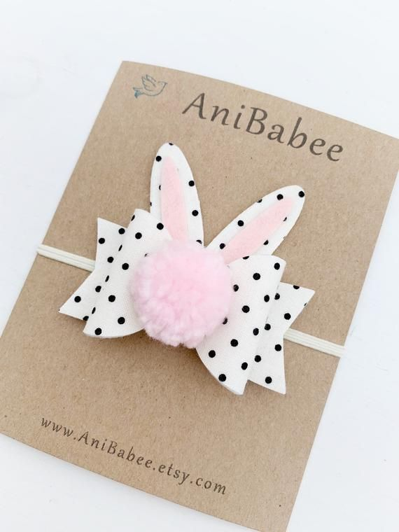Baby Headband, Easter Headband, Easter Hair Bows, Easter Bunny Headband, Bunny Ears Headband, Baby Easter Headband, Easter Baby Headband #babyhairaccessories