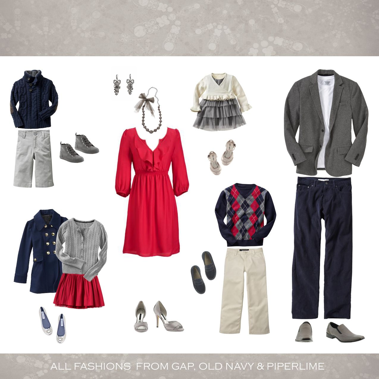 What to wear in family portraits | Portraits, Winter family photos ...