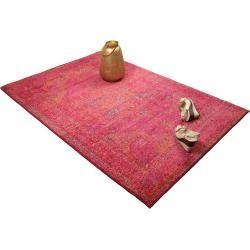Photo of benuta Teppich Liguria Pink 140×190 cm – Vintage Teppich im Used-Look benuta