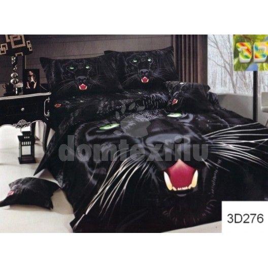 e7f274bcd Čierne bavlnené posteľné obliečky s pumou | Posteľné obliečky ...