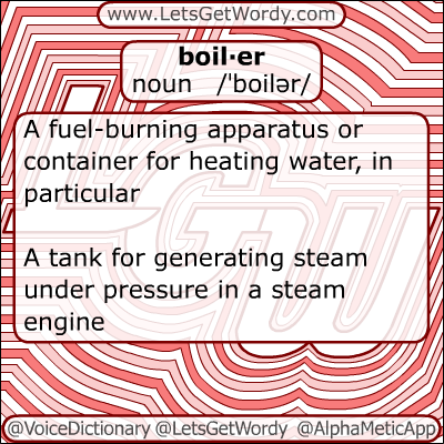 Boiler 12 24 2012 Gfx Definition Of The Day Voice Dictionary