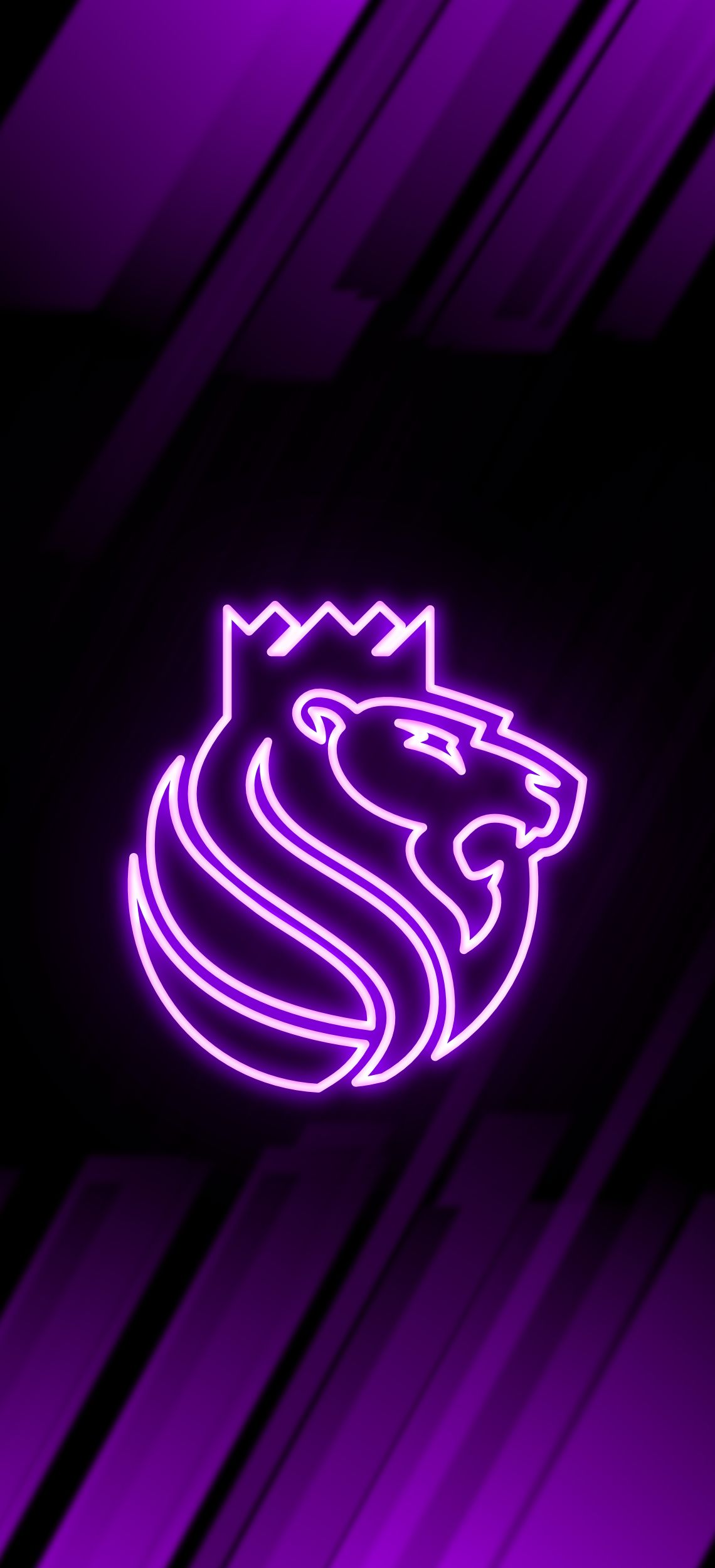 Sacramento Kings Neon Wallpaper Sacramento Kings Basketball Iphone Wallpaper Nba Basketball Teams