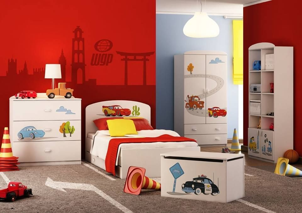 *Werbung Autozimmer Komplettes Kinderzimmer für Disney