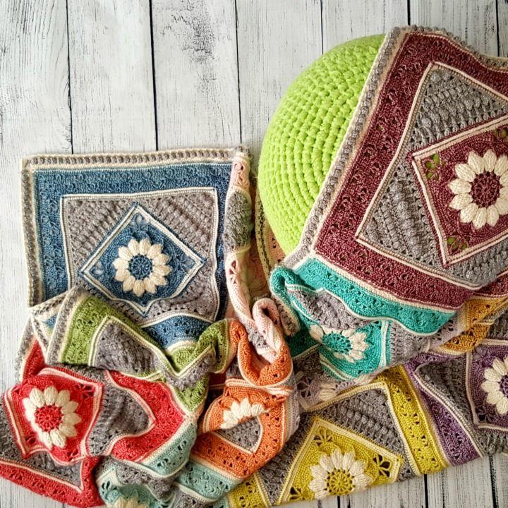 Colors In Love Madly Crochet Blanket - Free Pattern | Gute bücher ...